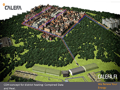 CDH concept for district heating